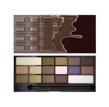 Makeup Revolution I Heart Chocolate – paleta cieni do powiek (22 g)