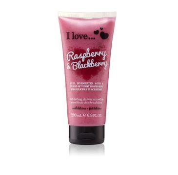 I Love Exfoliating Shower Smoothie peeling do ciała Raspberry & Blackberry 200ml