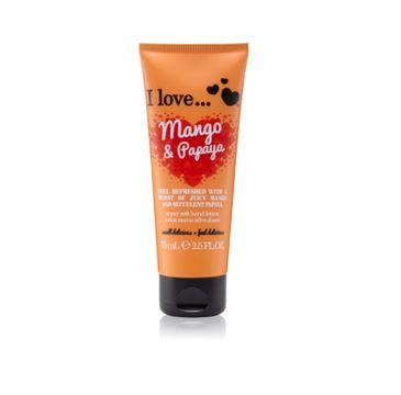 I Love Super Soft Hand Lotion krem do rąk Mango & Papaya 75ml