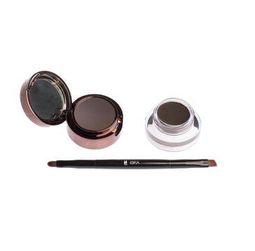 Ibra – Eyebrow Pomade&Powder pomada i cień do brwi Brown (7 g)