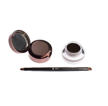 Ibra – Eyebrow Pomade&Powder pomada i cień do brwi Dark Chocolate (7 g)