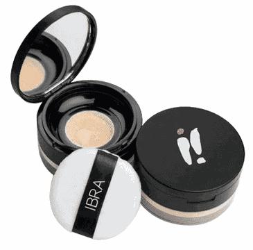 Ibra Makeup – sypki puder transparentny nr 1 (12 g)
