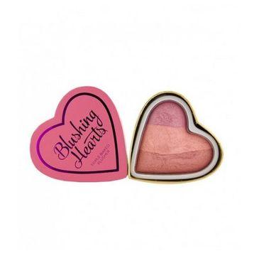 I Heart Revolution – Candy Queen Blushing Hearts róż do policzków (1 szt.)