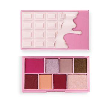 I Heart Revolution Mini paletka cieni do oczu Rose Cream (1 szt.)