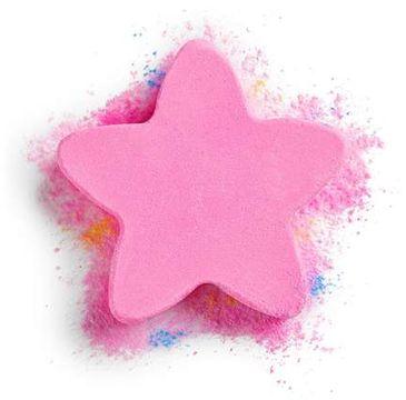 I Heart Revolution – gwiazdka do kąpieli Pink Twizzle Star Fizzer (1 szt.)