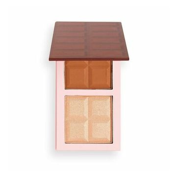 Makeup Revolution – Chocolate Contour Palette Medium paleta do konturowania twarzy (1 szt.)