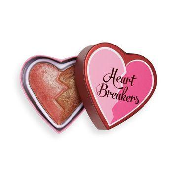 I Heart Revolution – Heart Breakers Rozjaśniający  róż do policzków  Powerful (10 g)