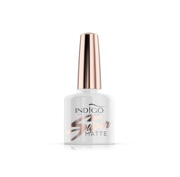 Indigo Super Matte – top do paznokci Top Coat (7 ml)