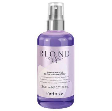 Inebrya Blondesse Blonde Miracle Bi-Phase Conditioner odżywka dwufazowa do włosów blond (200 ml)
