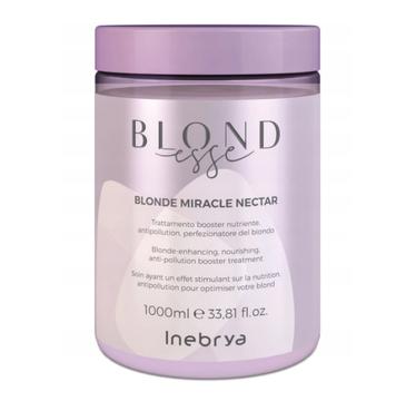 Inebrya – Blondesse Blonde Miracle Nectar odżywcza kuracja do włosów blond (1000 ml)