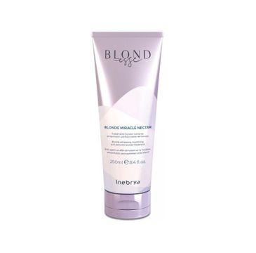Inebrya – Blondesse Blonde Miracle Nectar odżywcza kuracja do włosów blond (250 ml)