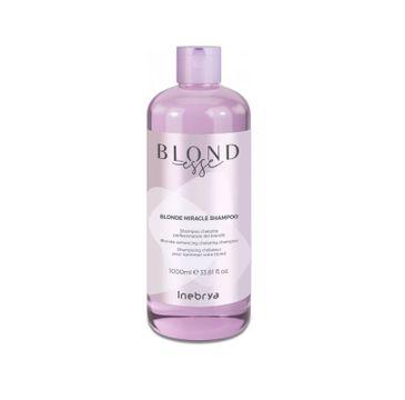 Inebrya – Blondesse Blonde Miracle Shampoo odżywczy szampon do włosów blond (1000 ml)