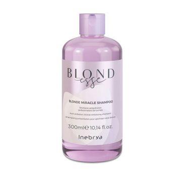Inebrya Blondesse Blonde Miracle Shampoo odżywczy szampon do włosów blond (300 ml)