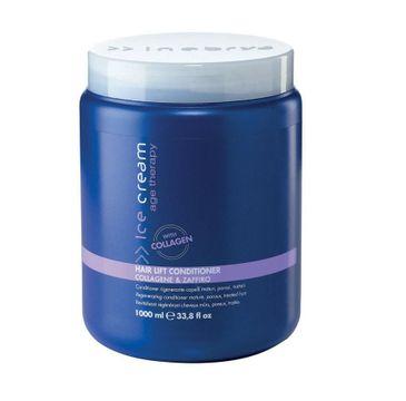 Inebrya Ice Cream Age Therapy Hair Lift Conditioner regenerująca odżywka do włosów dojrzałych o porowatej strukturze( 1000 ml)