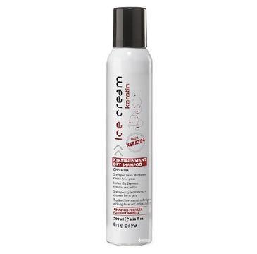 Inebrya Ice Cream Keratin Instant Dry Shampoo suchy szampon do włosów 200ml