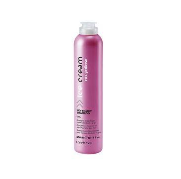 Inebrya Ice Cream No-Yellow Shampoo szampon do włosów blond lub siwych 300ml