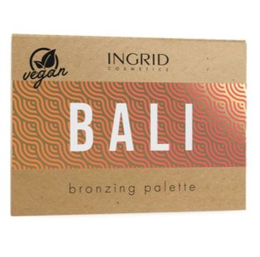 Ingrid – Bali paleta bronzerów do twarzy (20 g)