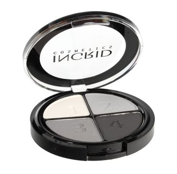 Ingrid Cienie do powiek poczwórne Smokey Eyes nr 117 7 g