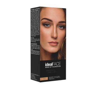 Ingrid – Fluid Ideal Face nr 17 ciepły beż fluid do twarzy (35 ml)