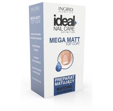 Ingrid Ideal Nail Care preparat do paznokci matujący 7 ml