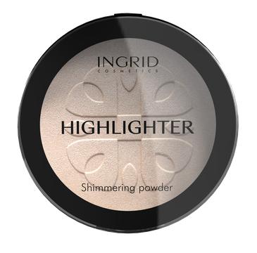 Ingrid – Podkład prasowany do twarzy HD Beauty Innovation rozświetlający (25 g)