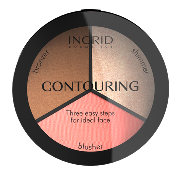 Ingrid – Puder do konturowania twarzy Ideal Face (19 g)