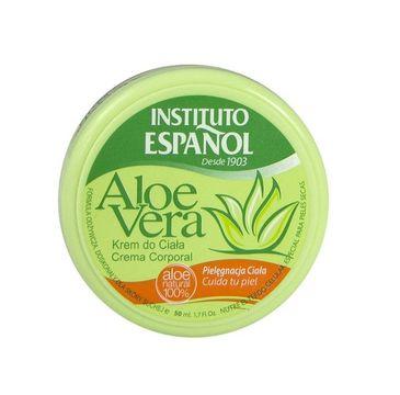 Instituto Espanol Aloe Vera krem do ciała nawilżający 50ml
