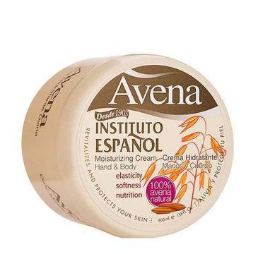 Instituto Espanol Avena Moisturizing Cream Hand & Body krem do ciała Owies 400ml