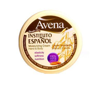 Instituto Espanol Avena Moisturizing Cream Hand & Body krem do ciała Owies 50ml