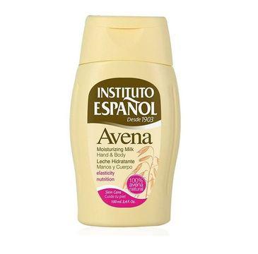Instituto Espanol Avena Moisturizing Milk Hand & Body mleczko do ciała Owies 100ml