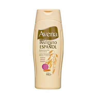 Instituto Espanol Avena Moisturizing Milk Hand & Body mleczko do ciała Owies 500ml