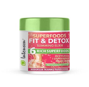 Intenson – Superfoods Fit & Detox Elixir koktajl błonnikowy suplement diety (135 g)