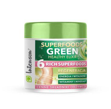 Intenson – Superfoods Green Healthy Elixir koktajl pobudzający suplement diety (150 g)