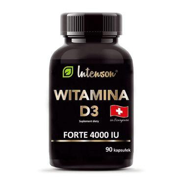 Intenson Witamina D3 4000 IU suplement diety (90 kapsułek)