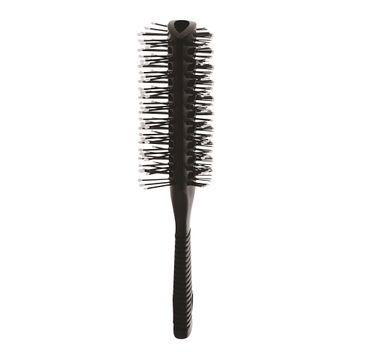 Inter Vion – Antistatic Hair Brush szczotka przelotowa dwustronna z gumową rączką (1 szt.)