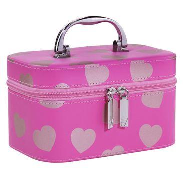 Inter Vion Romantic Hearts kuferek prostokątny S Różowy w Różowe Serca (1 szt.)
