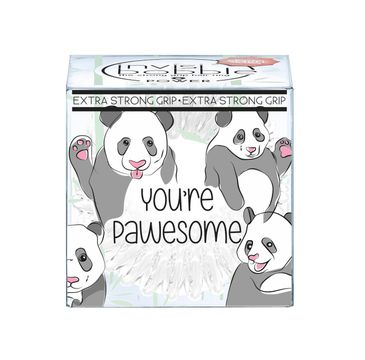 Invisibobble Power 3 Extra Strong Hair Rings gumki do włosów You're Pawesome 3szt
