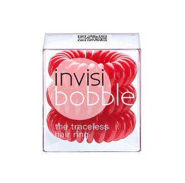 Invisibobble Traceless Hair Ring gumki do włosów Raspberry Red 3szt