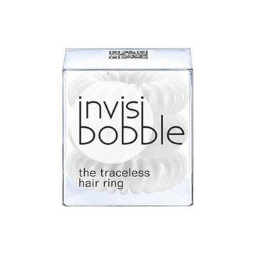 Invisibobble Traceless Hair Ring Innocent White gumki do włosów 3szt