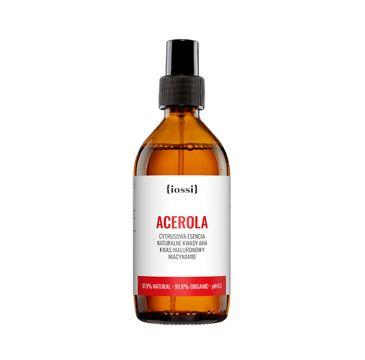 iossi Acerola cytrusowa esencja z naturalnymi kwasami AHA kwasem hialuronowym i niacynamidem (200 ml)
