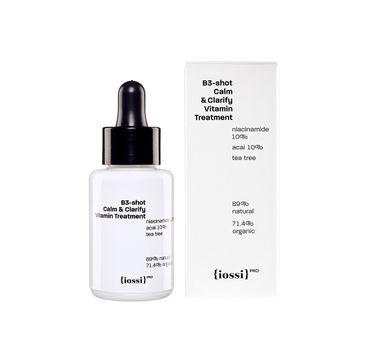 Iossi B3-shot Calm & Clarify Vitamin Treatment skoncentrowane serum z niacynamidem (30 ml)
