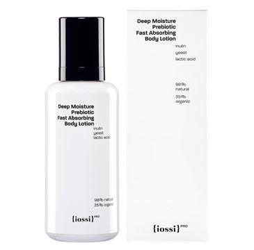 Iossi Deep Moisture Prebiotic Fast Absorbing Body Lotion intensywnie nawilżający balsam do ciała z naturalnymi prebiotykami (200 ml)