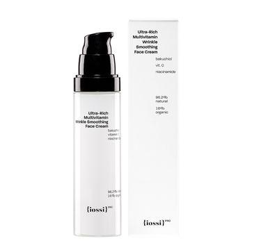 Iossi Ultra-Rich Multivitamin Wrinkle Smoothing Face Cream multiwitaminowy wygładzający krem do twarzy z bakuchiolem (50 ml)