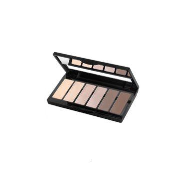 Isadora Eye Color Bar paleta 6 cieni do powiek 60 Nude Essentials 5g