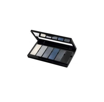 Isadora Eye Color Bar paleta 6 cieni do powiek 64 Grey Temptation 3g
