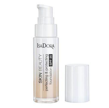Isadora Skin Beauty Perfecting & Protecting Foundation SPF35 ochrono-udoskonalający podkład do twarzy 01 Fair (30 ml)