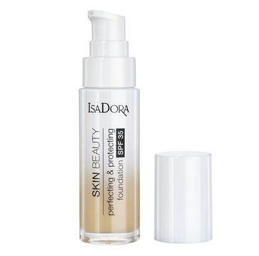 Isadora Skin Beauty Perfecting & Protecting Foundation SPF35 ochrono-udoskonalający podkład do twarzy 05 Light Honey (30 ml)