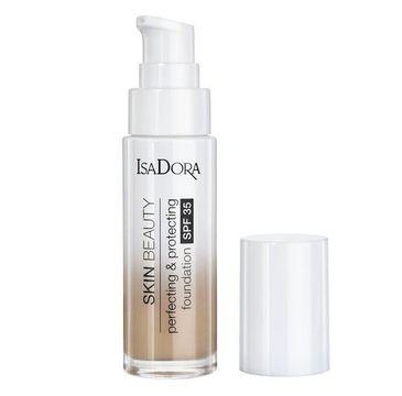 Isadora Skin Beauty Perfecting & Protecting Foundation SPF35 ochrono-udoskonalający podkład do twarzy 08 Gold Beige (30 ml)
