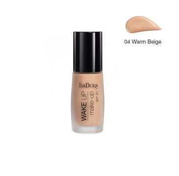 Isadora Wake Up Make-Up podkład do twarzy SPF20 04 Warm Beige 30ml