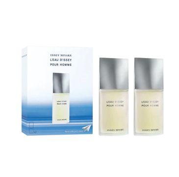 Issey Miyake L'Eau d'Issey Pour Homme zestaw woda toaletowa spray 2 x 40 ml (1 szt.)